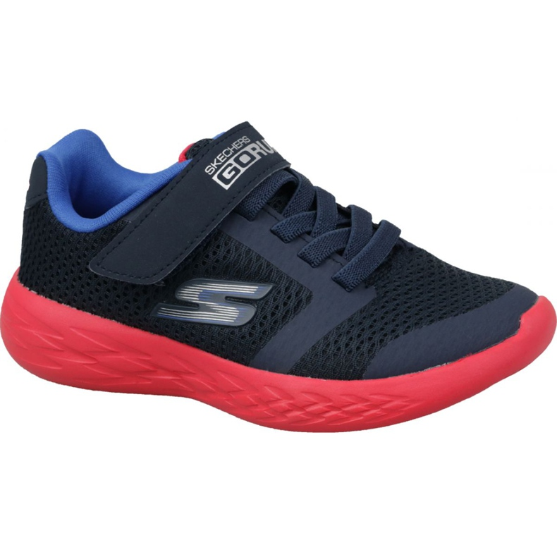 Skechers Go Run 600 Jr 97860L-NVRD shoes navy