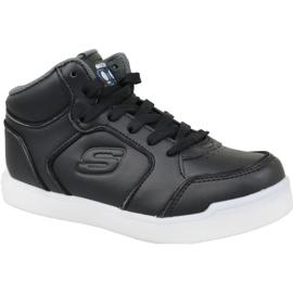Skechers Energy Lights Jr 90622L-BLK shoes black