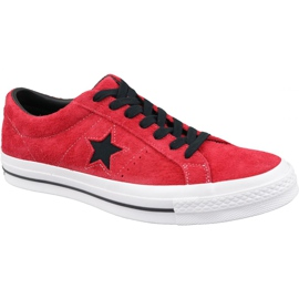 Converse One Star M 163246C shoes red