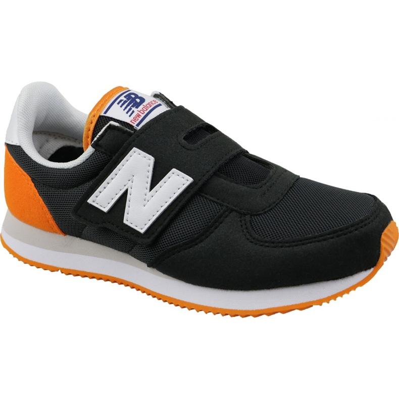 New Balance Jr PV220BKO shoes black