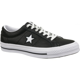 Converse Shoes One Star Ox 163385C black