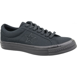 Converse One Star Ox M 163380C shoes black