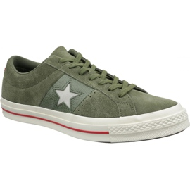 Converse One Star Shoes 163198C green