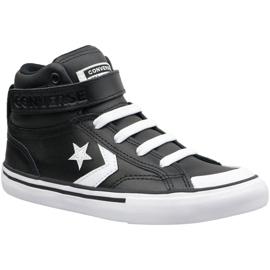 Black Converse Pro Blaze Strap Hi Jr 663608C shoes