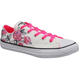 Converse C. Taylor All Star Jr 663624C shoes white
