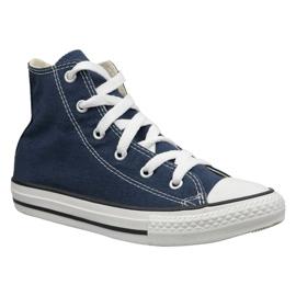 Navy Converse C. Taylor All Star Youth Hi Jr 3J233 shoes