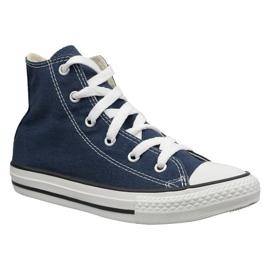 Navy Converse C. Taylor All Star Youth Hi Jr 3J233C shoes