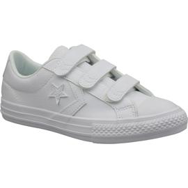 White Converse Star Player Ev Ox Jr 651830C shoes