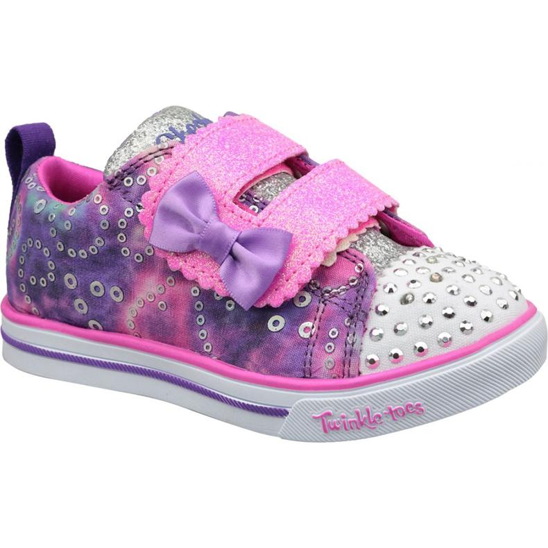 Skechers Sparkle Lite Jr 20147N-PRMT shoes pink