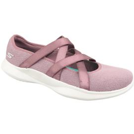 Violet Skechers Serene Elation 15847-MVE shoes purple