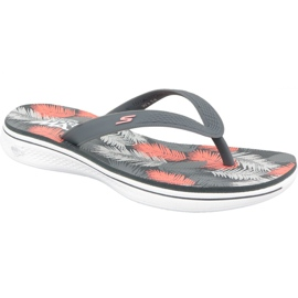 Multicolored Flip-flops Skechers H2 Goga W 14680-CCCL