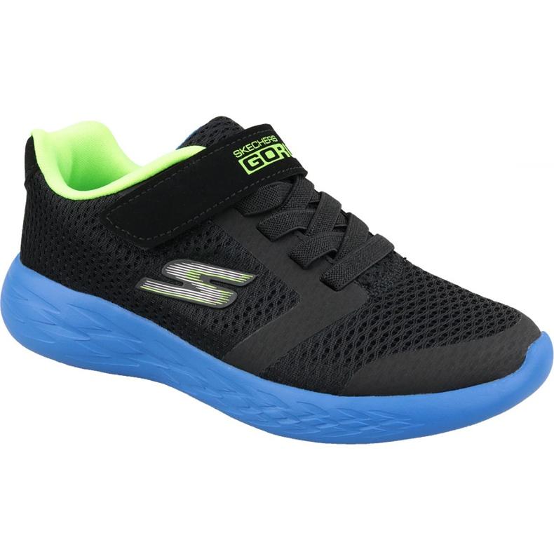 Skechers Go Run 600 Jr 97860L-BBLM shoes black