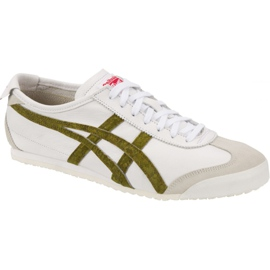 Asics white Onitsuka Tiger Mexico 66 U shoes 1183A013-100