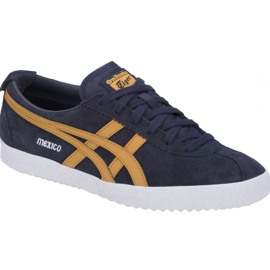 Asics navy Onitsuka Tiger Mexico Delegation M D6E7L-400 shoes