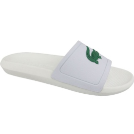 Lacoste Croco Slide 119 1 M slippers 737CMA0018082 white