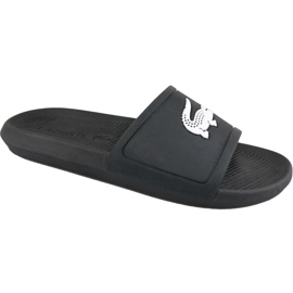 Lacoste Croco Slide 119 1 M slippers 737CMA0018312 black