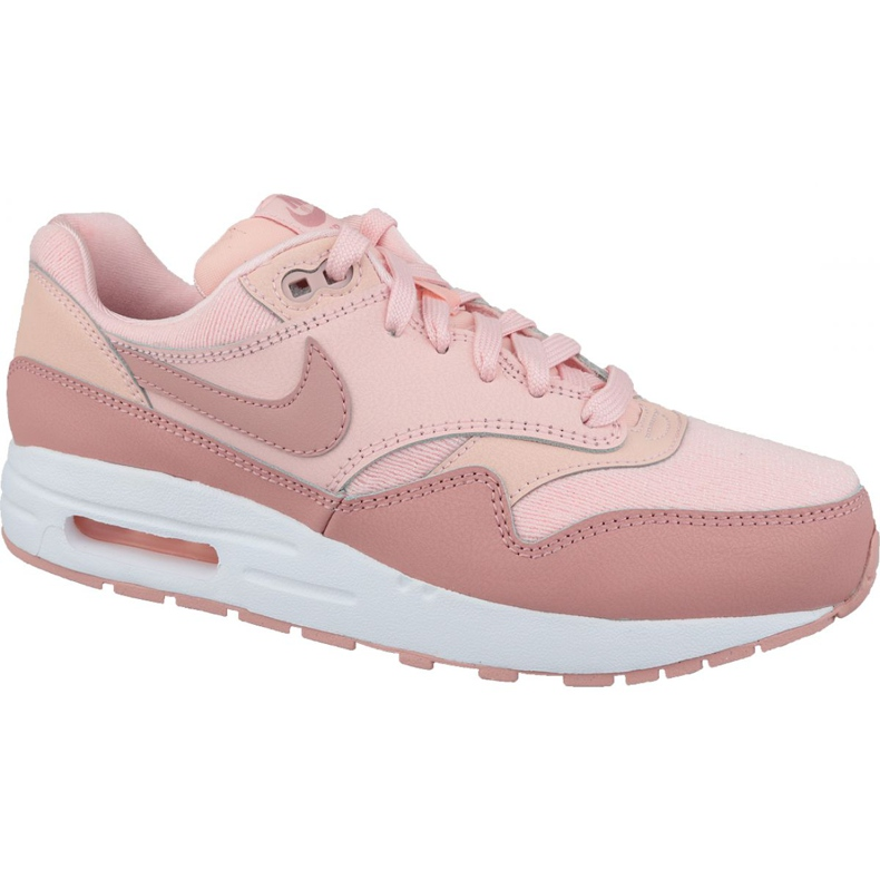 Nike Air Max 1 Gs Jr AQ3188-600 shoes pink