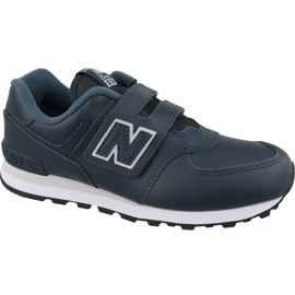 New Balance YV574ERV Jr shoes navy blue