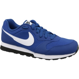 Nike Md Runner 2 Gs Jr 807316-411 shoes blue