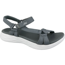 Grey Sandals Skechers On The Go 600 15316-CHAR gray