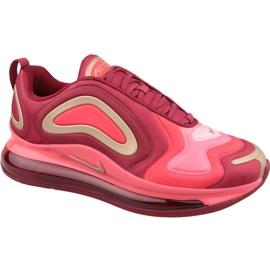 Red Nike Air Max 720 Gs Jr AQ3195-600 shoes