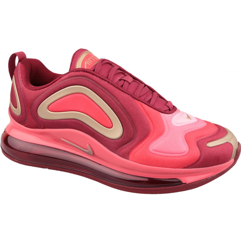 Nike Air Max 720 Gs Jr AQ3195-600 shoes red