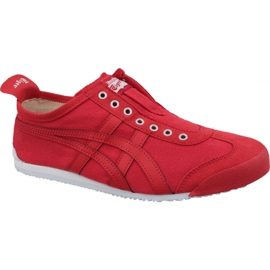 Asics red Onitsuka Tiger Mexico 66 Slip-On M D3K0N-600 shoes