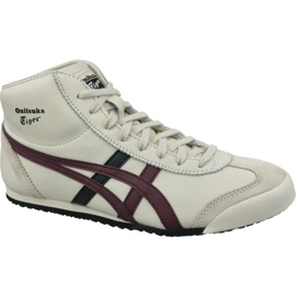 Asics white Onitsuka Tiger Mexico Mid Runner M HL328-250 shoes