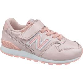 Pink New Balance Jr YV996GB shoes
