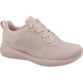Pink Skechers Bobs Squad W 32504-PNK shoes