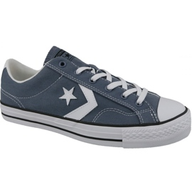 Blue Converse Player Star Ox M 160557C shoes