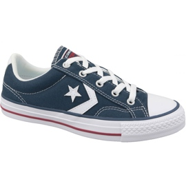 Navy Converse Star Player Ox U 144150C shoes