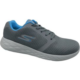 Grey Skechers Go Run 600 M 55061-CCBL shoes