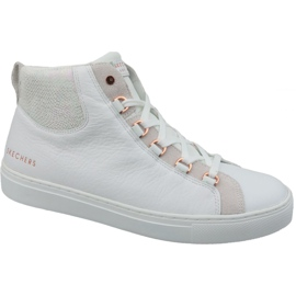 White Skechers Side Street Core-Set Hi W 73581-WHT shoes