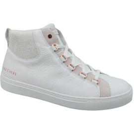 White Skechers Side Street Core-Set Hi W 73581-WHT shoes