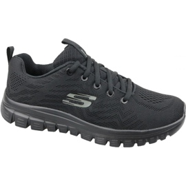 Black Skechers Graceful Get Connected W 12615-BBK shoes