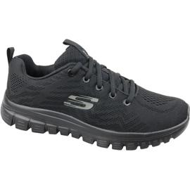Black Skechers Graceful Get Connected W 12615-BBK shoes