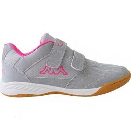 Grey Kappa Kickoff Jr 260509K 1522 shoes