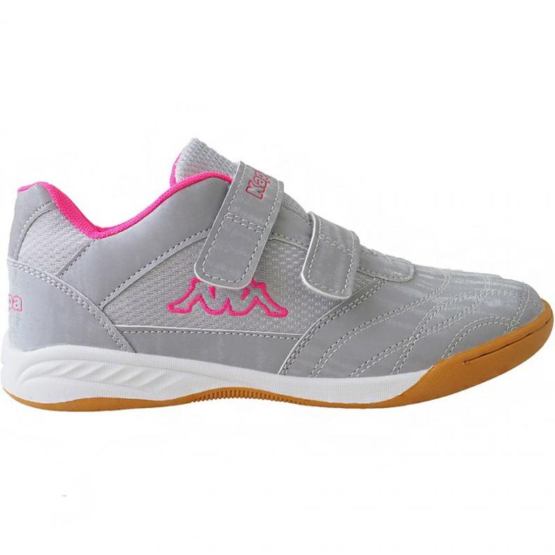 Kappa Kickoff Jr 260509K 1522 shoes pink grey
