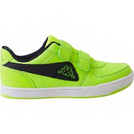 Green Kappa Trooper Light Ice Kids 260575K 3011 shoes