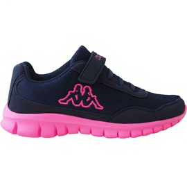 Kappa Follow Bc Jr 260634K 6722 shoes navy pink