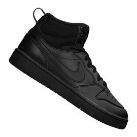 Nike Court Borough Mid 2 Boot (GS) Jr BQ5440-001 black