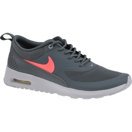 Grey Nike Air Max Thea Gs W 814444-007 shoes
