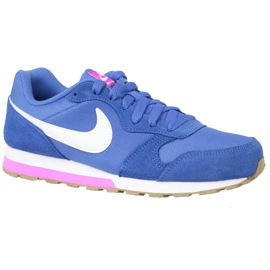 Blue Nike Md Runner 2 Gs W shoes 807319-404