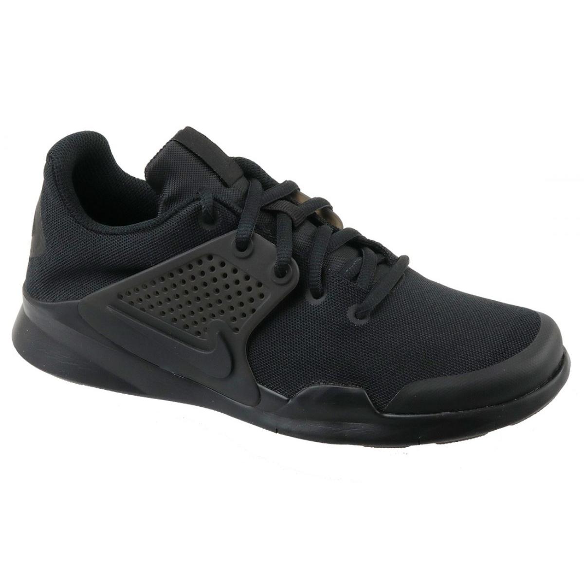Modernizar Seguro Avanzado  Nike Arrowz Gs W 904232-004 shoes black - ButyModne.pl