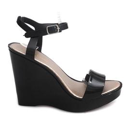 Wedge Heels Open 88-59 Black
