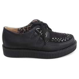Boots Creepers On Platform 061ss Black