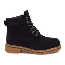 Insulated Timber Boots H88B Black