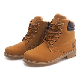Brown Insulated Timber Boots BED01 Camel