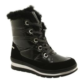 Black membrane boots Caprice 26221